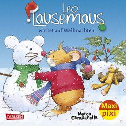 Maxi Pixi 241: VE 5 Leo Lausemaus wartet auf Weihnachten (5 Exemplare) von Campanella,  Marco, Casalis,  Anna