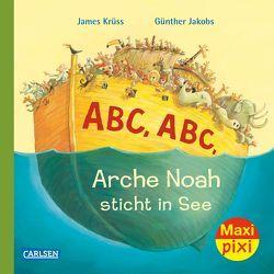 Maxi-Pixi Nr. 248: ABC Arche Noah sticht in See von Jakobs,  Günther, Krüss,  James