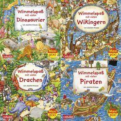 Maxi-Pixi-4er-Set 25: Wimmelbilder 3 (4×1 Exemplar) von Krause,  Joachim