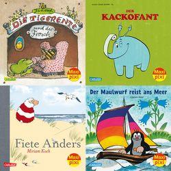Maxi-Pixi-Box 52: Berühmte Tiere (4×5 Exemplare) von Fil, Janosch, Koch,  Miriam, Miler,  Zdeněk, Sörensen,  Hanna, Zehrer,  Klaus Cäsar