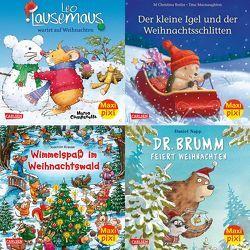 Maxi-Pixi-Box 62: Bald nun ist Weihnachtszeit (4×5 Exemplare) von Butler,  M Christina, Campanella,  Marco, Casalis,  Anna, Krause,  Joachim, Macnaughton,  Tina, Napp,  Daniel