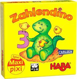 """Maxi-Pixi-Spiel """"made by haba"""": Zahlendino von HABA"""