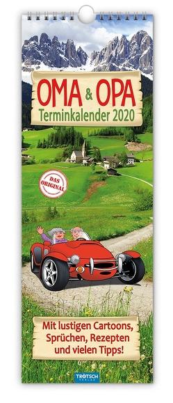 """Maxi-Streifenkalender """"Oma und Opa"""" 2020"""