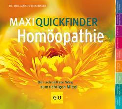 MaxiQuickfinder Homöopathie von Wiesenauer,  Markus