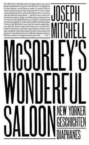 McSorley's Wonderful Saloon von Koch,  Sven, Mitchell,  Joseph, Stumpf,  Andrea
