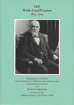 MdL Waldeck und Pyrmont 1814 -1929 von Lengemann,  Jochen