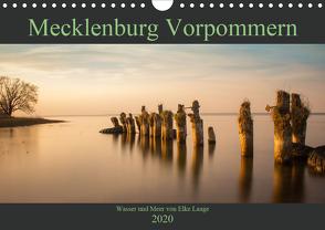 Mecklenburg Vorpommern – Wasser und Meer (Wandkalender 2020 DIN A4 quer) von Laage,  Elke