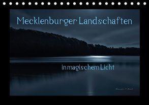 Mecklenburger Landschaften in magischem Licht (Tischkalender 2018 DIN A5 quer) von Mischuda,  Sandro