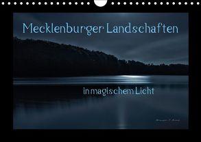 Mecklenburger Landschaften in magischem Licht (Wandkalender 2018 DIN A4 quer) von Mischuda,  Sandro