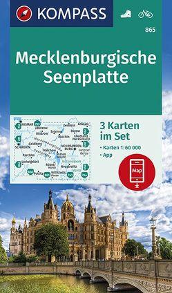 Mecklenburgische Seenplatte von KOMPASS-Karten GmbH