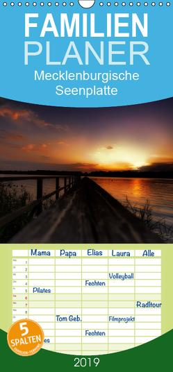 Mecklenburgische Seenplatte – zum Träumen schön – Familienplaner hoch (Wandkalender 2019 , 21 cm x 45 cm, hoch) von Petra Voß,  ppicture-