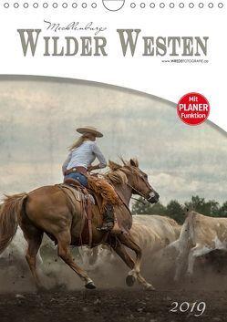 Mecklenburgs Wilder Westen (Wandkalender 2019 DIN A4 hoch) von Wrede,  Martina