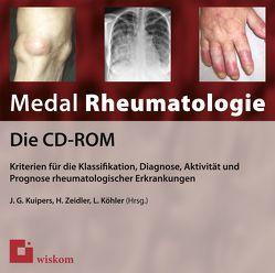 Medal Rheumatologie – Die CD-ROM von Köhler,  Lars, Kuipers,  Jens G, Zeidler,  Henning