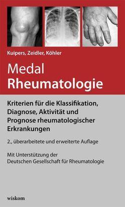 Medal Rheumatologie von Köhler,  Lars, Kuipers,  Jens Gert, Märker-Hermann,  Elisabeth, Müller-Ladner,  Ulf, Zeidler,  Henning