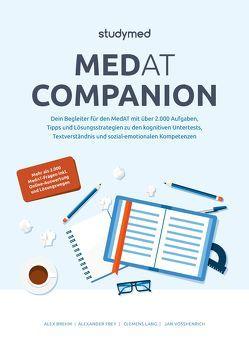 MedAT Companion von Brehm,  Alex, Frey,  Alexander, Lang,  Clemens, Vosshenrich,  Jan