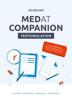 MedAT Companion Testsimulation von Brehm,  Alex, Frey,  Alexander, Lang,  Clemens, Vosshenrich,  Jan