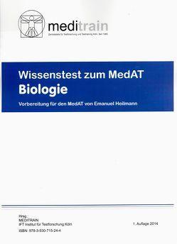 MedAT WISSENSTEST (BMS) Ban 1: Biologie von Heilmann,  Emanuel