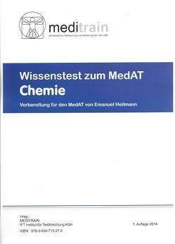 MedAT WISSENSTEST (BMS) Band 2: Chemie von Heilmann,  Emanuel