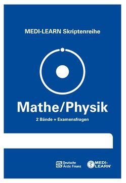 MEDI-LEARN Skriptenreihe: Mathe/Physik im Paket von Dutzmann,  Jochen, Körtner,  Günter, Lüdeling,  Daniel, Schmitt,  Ilka