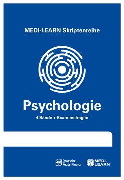 MEDI-LEARN Skriptenreihe: Psychologie im Paket von Körtner,  Günter, Lüdeling,  Daniel, Müller,  Dr. Bringfried, Vrecko,  Valentin