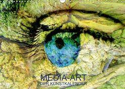 MEDIA-ART Der Kunstkalender (Wandkalender 2018 DIN A3 quer) von Lauer,  Bernd