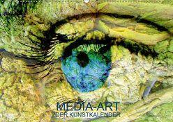 MEDIA-ART Der Kunstkalender (Wandkalender 2019 DIN A2 quer) von Lauer,  Bernd