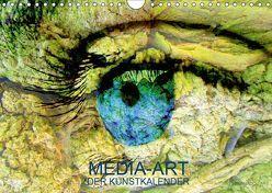 MEDIA-ART Der Kunstkalender (Wandkalender 2019 DIN A4 quer) von Lauer,  Bernd