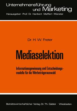 Mediaselektion von Freter,  Hermann