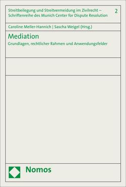 Mediation von Meller-Hannich,  Caroline, Weigel,  Sascha