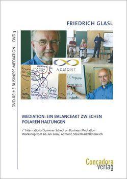 Mediation: Ein Balanceakt zwischen polaren Haltungen von Glasl,  Friedrich