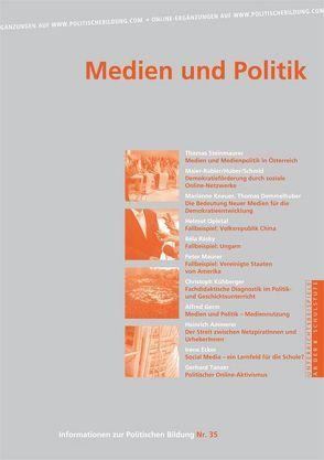 Medien und Politik von Diendorfer,  Gertraud