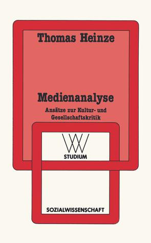 Medienanalyse von Heinze,  Thomas