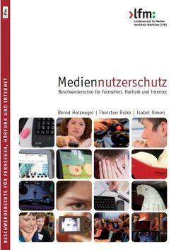 Mediennutzerschutz: von Holznagel,  Bernd, Ricke,  Thorsten, Simon,  Isabel