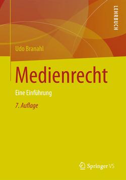 Medienrecht von Branahl,  Udo, Halder,  E., Pudack,  A., Rumphorst,  R.