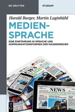 Mediensprache von Burger,  Harald, Luginbühl,  Martin