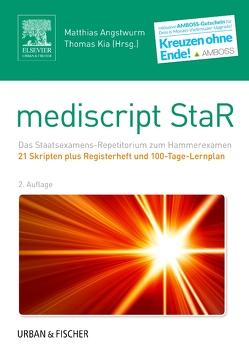mediscript StaR Skripten-Paket Hammerexamen mit Registerheft von Angstwurm,  Matthias, Kia,  Thomas