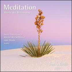 Meditation 2020 – Broschürenkalender – Wandkalender – mit herausnehmbarem Poster und Zitaten – Format 30 x 30 cm von DUMONT Kalenderverlag
