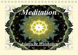 Meditation – Asiatische Weisheiten (Tischkalender 2019 DIN A5 quer) von Art-Motiva