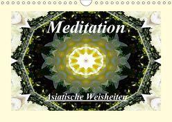 Meditation – Asiatische Weisheiten (Wandkalender 2018 DIN A4 quer) von Art-Motiva,  k.A.