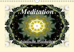 Meditation – Asiatische Weisheiten (Wandkalender 2019 DIN A4 quer) von Art-Motiva