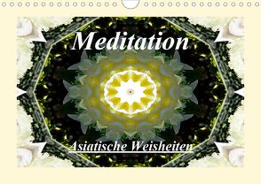 Meditation – Asiatische Weisheiten (Wandkalender 2021 DIN A4 quer) von Art-Motiva