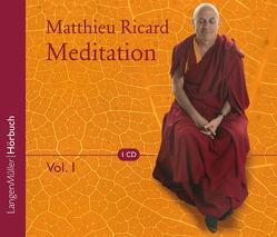 Meditation, Vol. 1 von Muth,  Frank, Ricard,  Matthieu