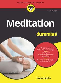 Meditation für Dummies von Bodian,  Stephan