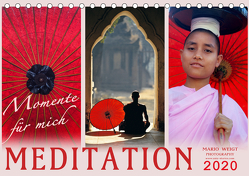 MEDITATION Momente für mich (Tischkalender 2020 DIN A5 quer) von Weigt Photography,  Mario