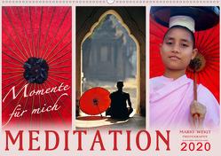 MEDITATION Momente für mich (Wandkalender 2020 DIN A2 quer) von Weigt Photography,  Mario