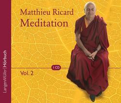 Meditation, Vol. 2 von Muth,  Frank, Ricard,  Matthieu