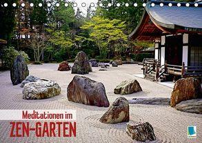 Meditationen im Zen-Garten (Tischkalender 2016 DIN A5 quer) von CALVENDO