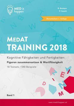 MEDithappen MedAT Training 2018, Band 1 von Boztepe,  Bedirhan, Casetti,  Pascal