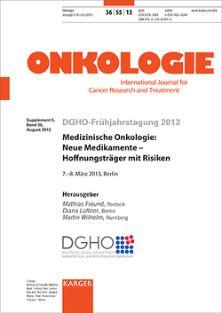 Medizinische Onkologie: Neue Medikamente – Hoffnungsträger mit Risiken von Freund, Lüftner, Wilhelm