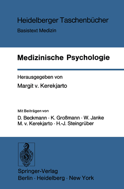 Medizinische Psychologie von Kerekjarto,  M.v.